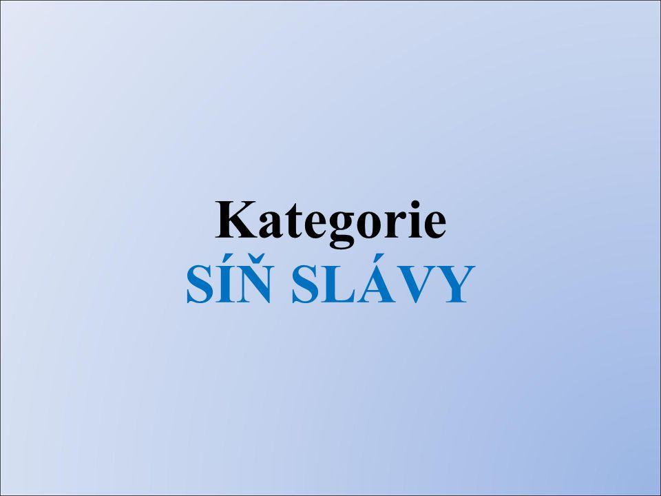 Kategorie SÍŇ SLÁVY