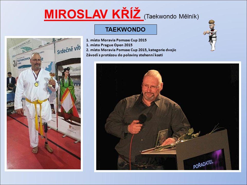 MIROSLAV KŘÍŽ (Taekwondo Mělník) 1. místo Moravia Pomsae Cup 2015 1.