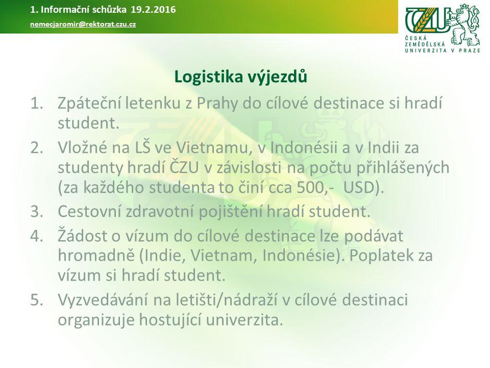 Letní škola v Číně 2016 organizována PEF Garant: PhDr Vlastimil Černý, MA Kontakt: Ing.