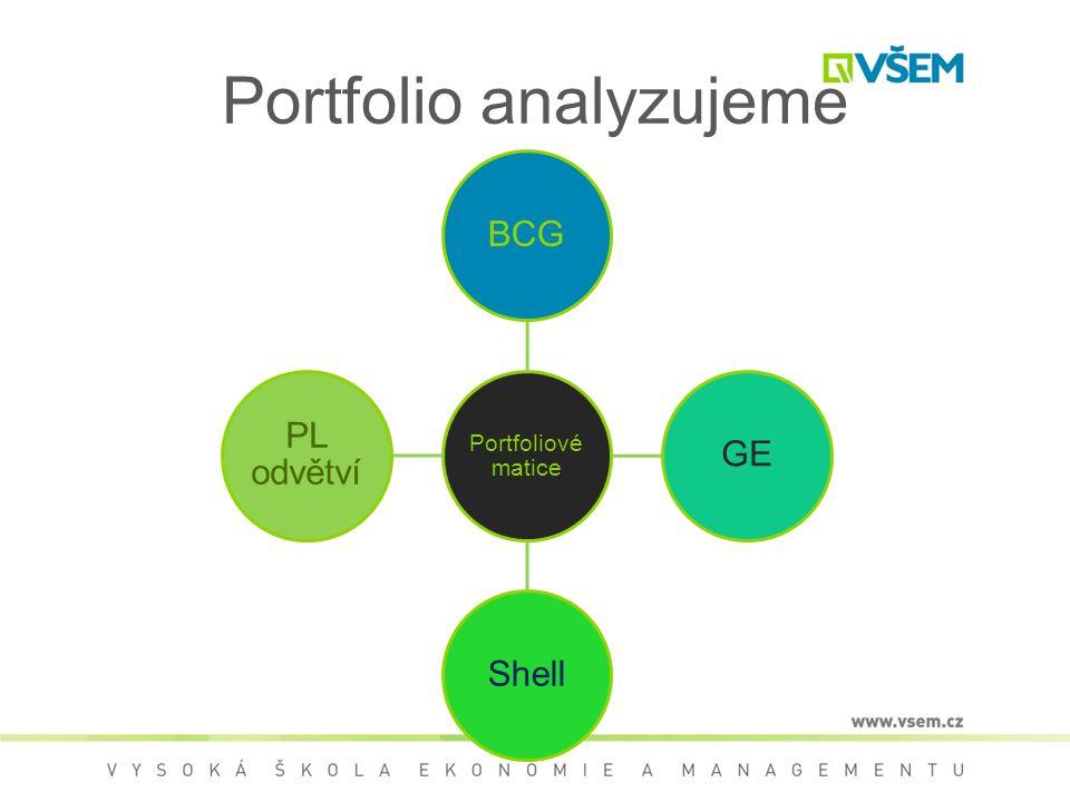 Portfolio analyzujeme