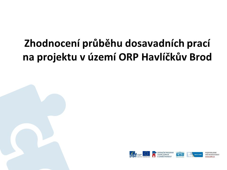 Oblast sociálních služeb, Marta Vencovská  Analýza výsledků Nejvíce poskytovatelů sociálních služeb je ve městě Havlíčkův Brod.