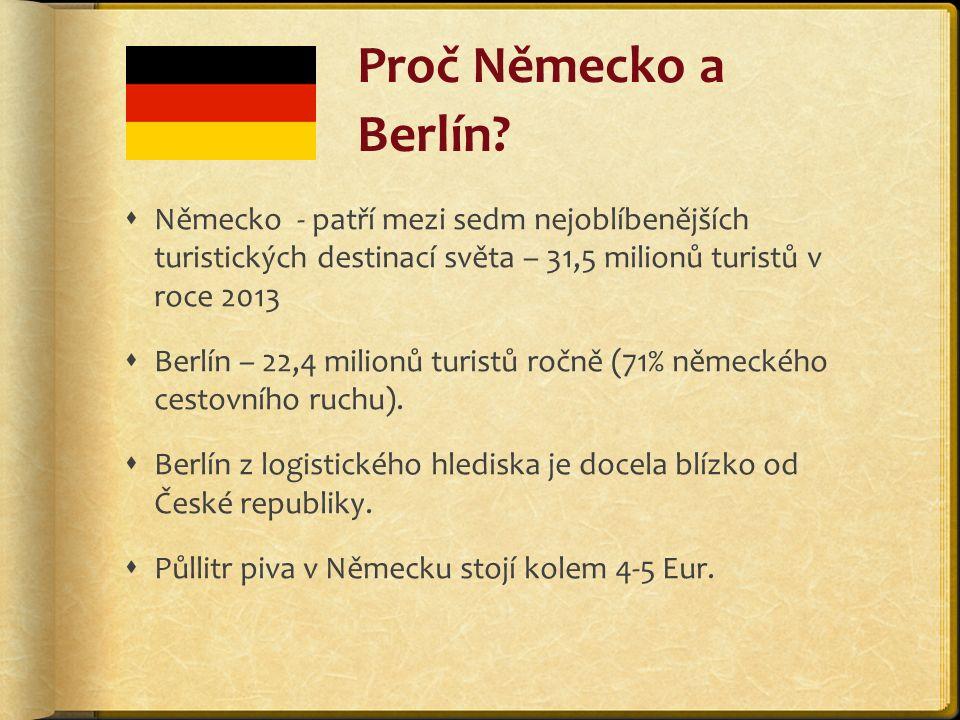 Proč Německo a Berlín.