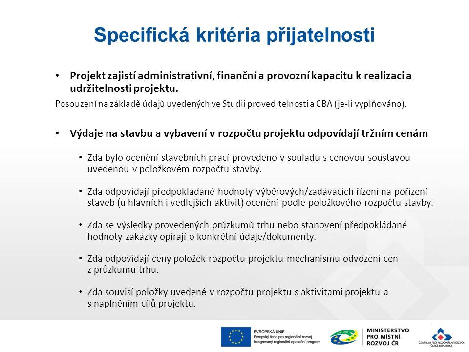 Projekt zajistí administrativní, finanční a provozní kapacitu k realizaci a udržitelnosti projektu.