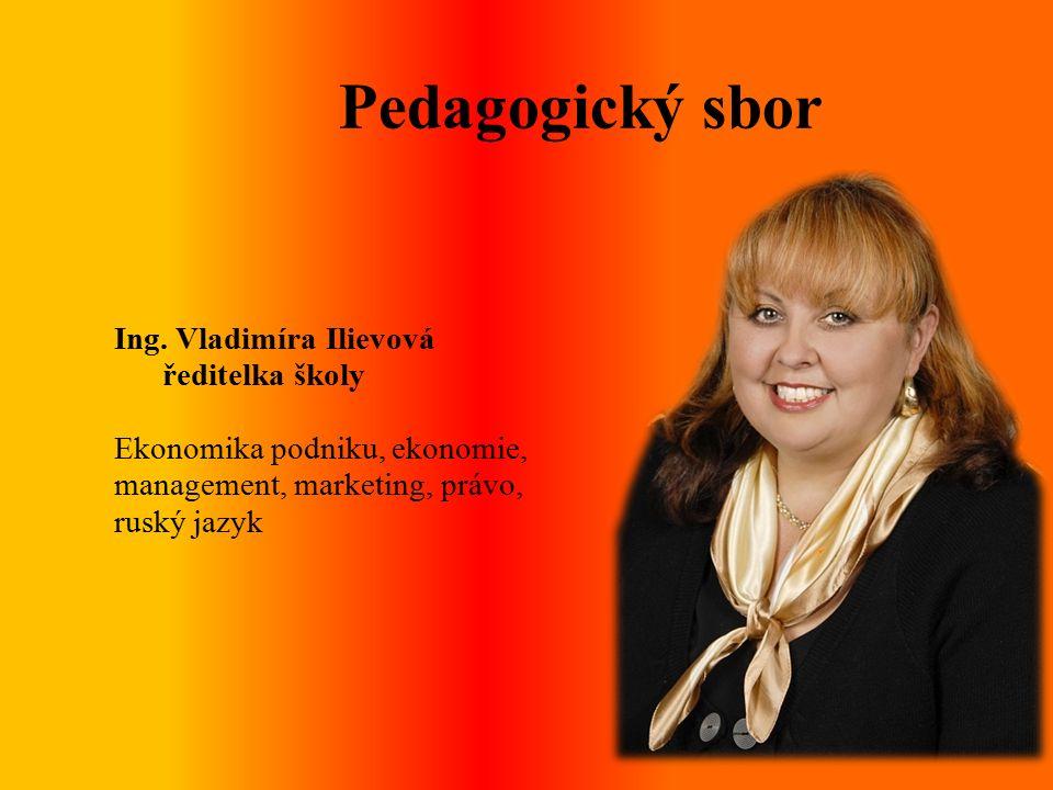 Pedagogický sbor Ing.