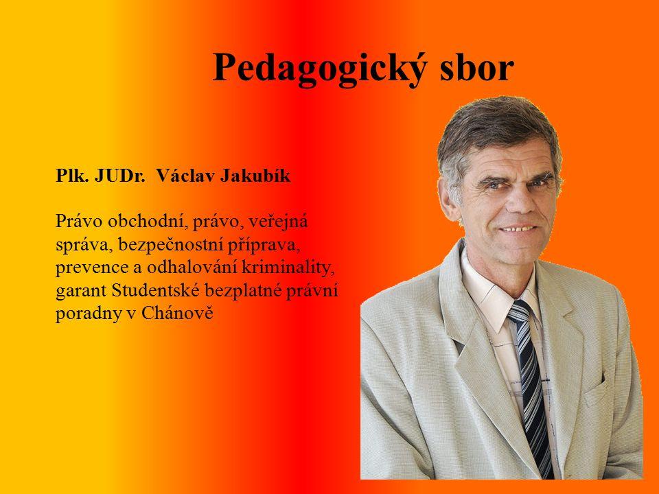 Pedagogický sbor Plk. JUDr.