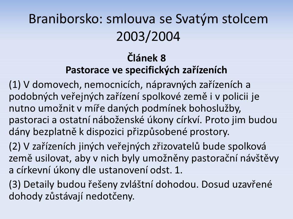 Braniborsko: smlouva s evangelickými církvemi 1996/1997 Dodatkový protokol k čl.