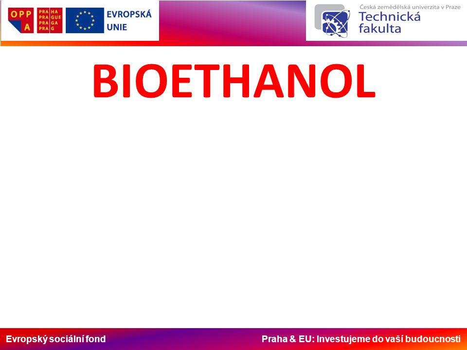 Evropský sociální fond Praha & EU: Investujeme do vaší budoucnosti -ethanol, nebo ethylalkohol (nesprávně nazýván líh) je druhý nejnižší alkohol; -je bezbarvá kapalina ostré, ve zředění příjemné alkoholické vůně, která je základní součástí alkoholických nápojů; -je snadno zápalný, a proto je klasifikován jako hořlavina 1.