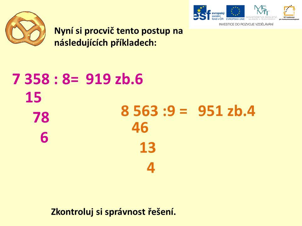 A teď pro změnu počítej zpaměti i písemně: dvakrát větší než a dané číslo a841466667429841 4001 6003 600 dvakrát menší než a Zkontroluj si správnost řešení.