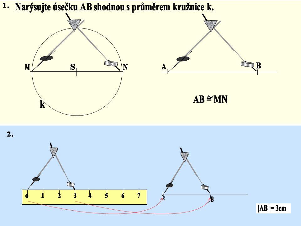 Grafický součet stran trojúhelníku