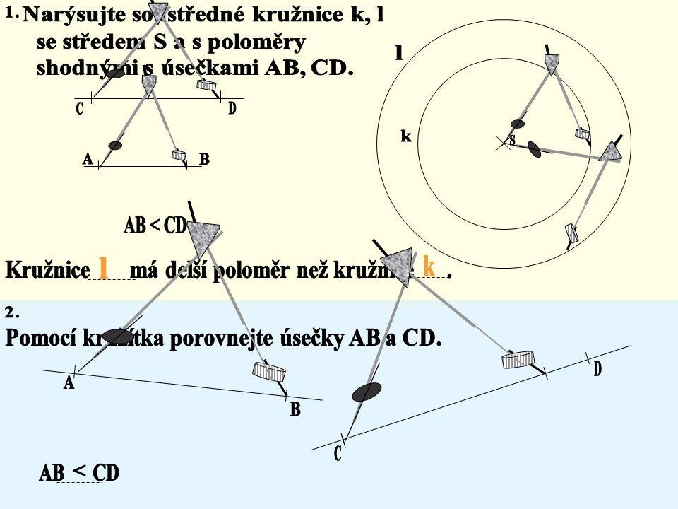 Znázornění rovnic úsečkami