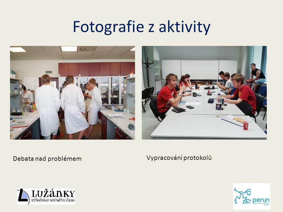 Fotografie z aktivity Debata nad problémem Vypracování protokolů