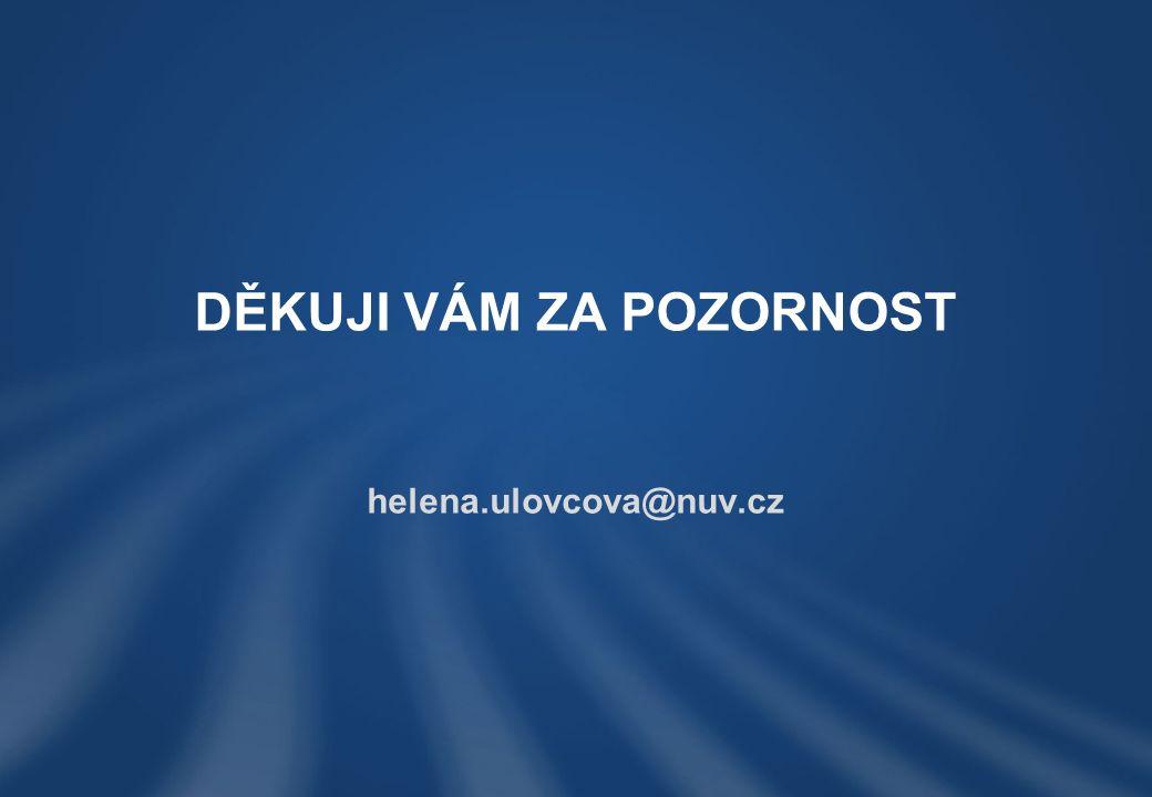 helena.ulovcova@nuv.cz DĚKUJI VÁM ZA POZORNOST