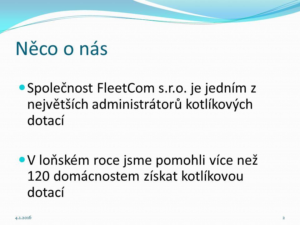 Něco o nás Společnost FleetCom s.r.o.
