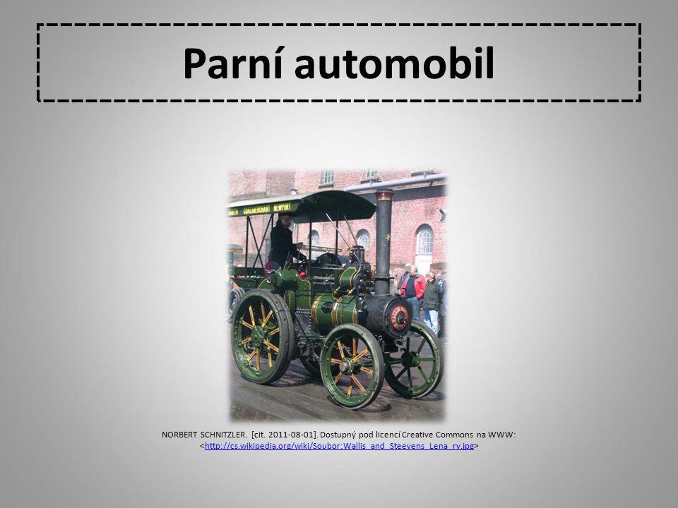 Parní automobil NORBERT SCHNITZLER. [cit. 2011-08-01]. Dostupný pod licencí Creative Commons na WWW: http://cs.wikipedia.org/wiki/Soubor:Wallis_and_St