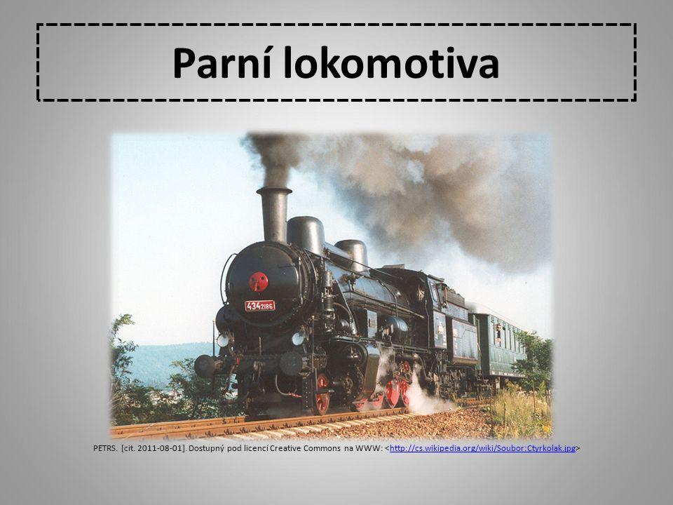 Parní lokomotiva PETRS. [cit. 2011-08-01]. Dostupný pod licencí Creative Commons na WWW: http://cs.wikipedia.org/wiki/Soubor:Ctyrkolak.jpg