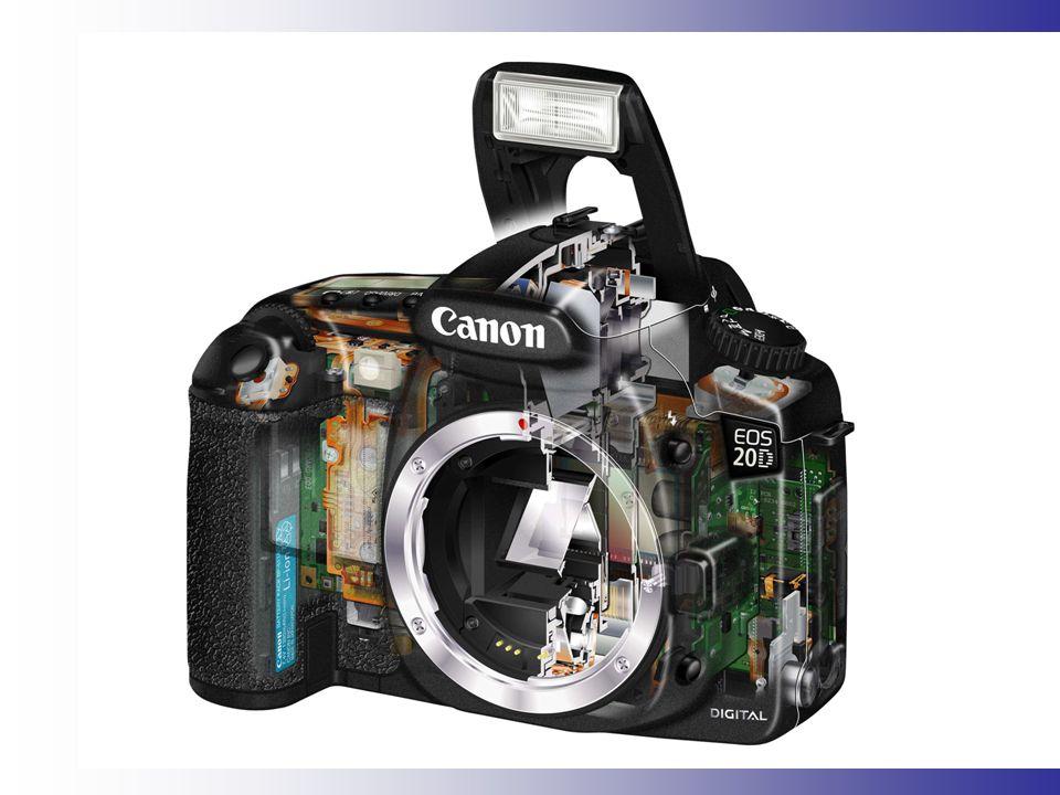 Citlivost CCD-CMOS čipu Většina digitálních fotoaparátů má tzv.