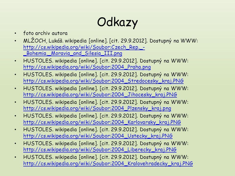 Kdo dával pozor ví: Kolik krajů má dnes Česká republika.