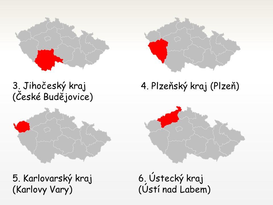 ČR dnes kraje vznikly v roce 2000 dnes je v České republice je 14 krajů 14 krajů je uvedeno v číslovaném pořadí podle zákona, v závorce je uvedeno krajské město 1.