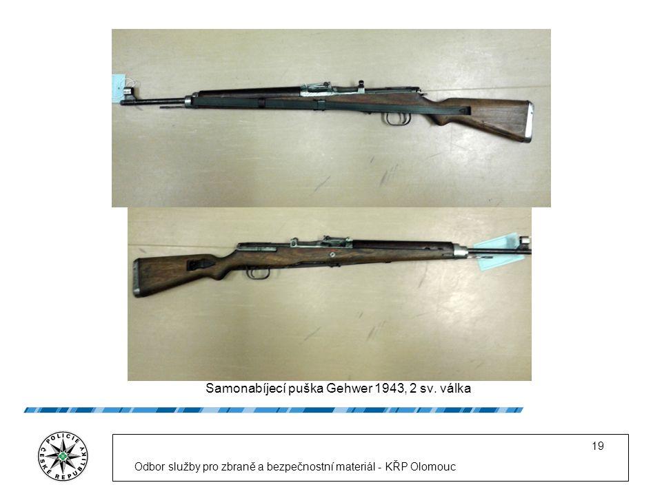 Samonabíjecí puška Gehwer 1943, 2 sv.