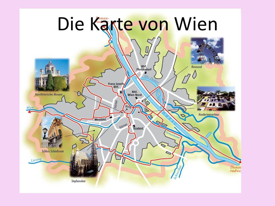Die Karte von Wien