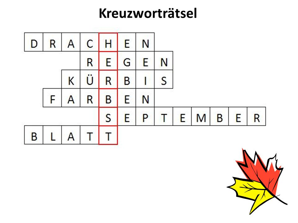 Doplňte věty ……………….beginnt am 23. September. Im Herbst ernten wir …………… und ………………….