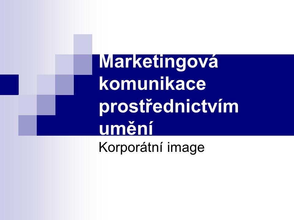 Marketingová komunikace prostřednictvím umění Korporátní image