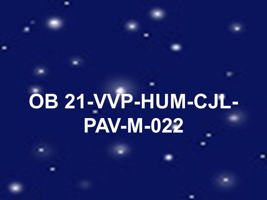 OB 21-VVP-HUM-CJL- PAV-M-022