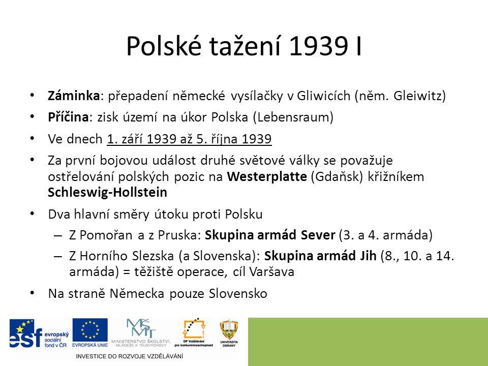 Polské tažení 1939 I Záminka: přepadení německé vysílačky v Gliwicích (něm.