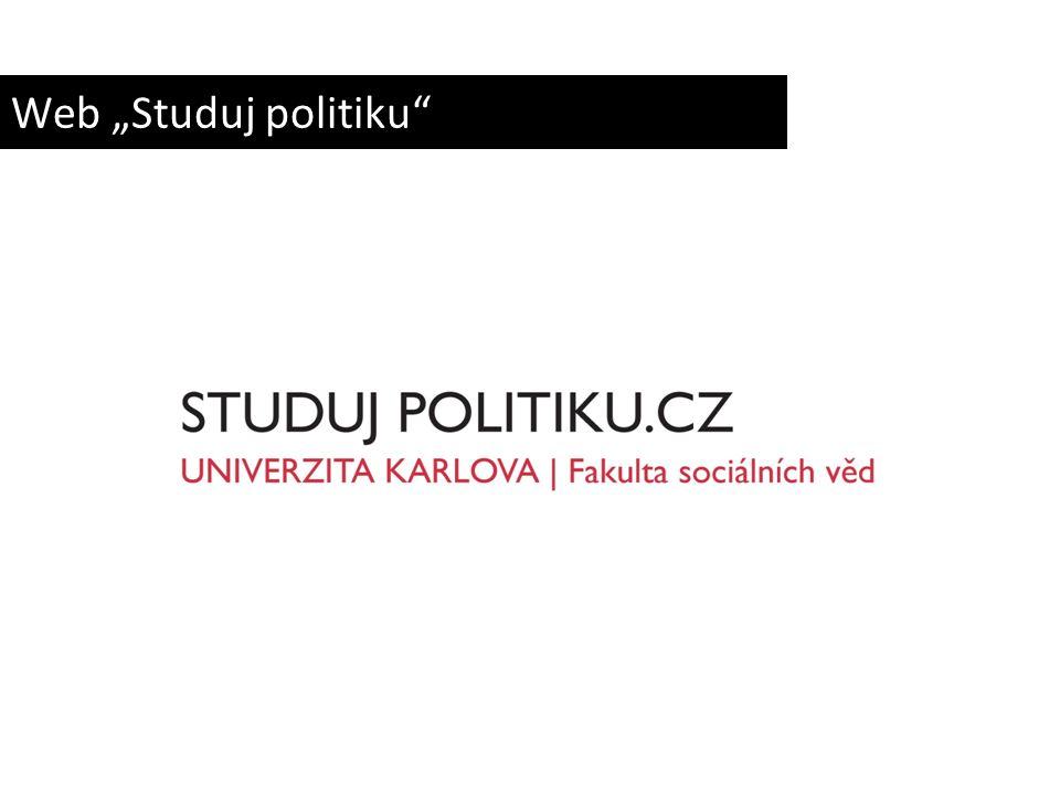 "Web ""Studuj politiku"