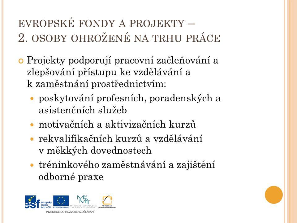 EVROPSKÉ FONDY A PROJEKTY – 2.