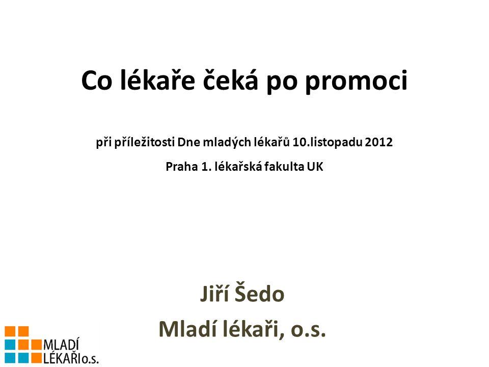 Co lékaře čeká po promoci při příležitosti Dne mladých lékařů 10.listopadu 2012 Praha 1.