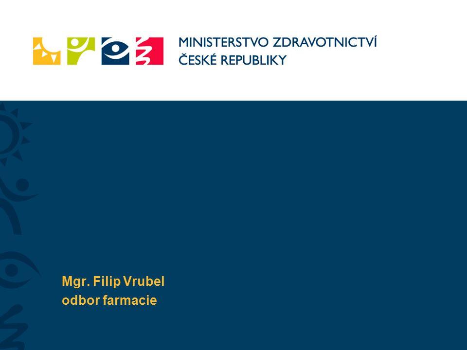Mgr. Filip Vrubel odbor farmacie