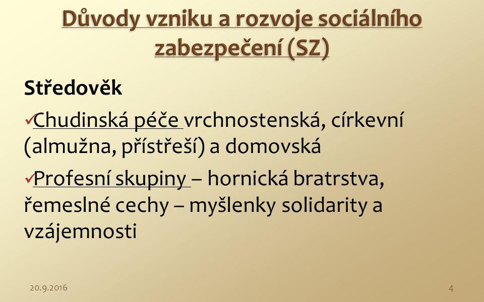 Význam sociálního zabezpečení, jeho principy, modely a metody.