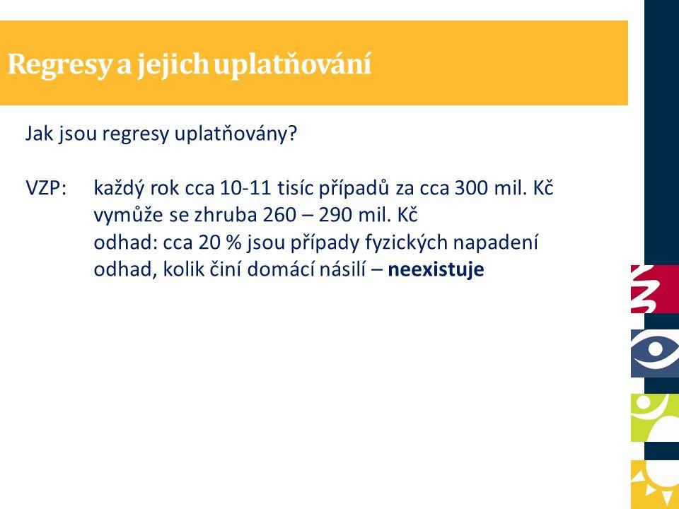Regresy a jejich uplatňování Jak jsou regresy uplatňovány.