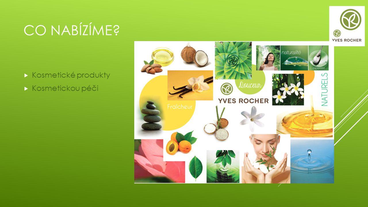 PODPORA PRODEJE  Yves Rocher vytváří sezónní nabídky, v podobě nejrůznějších zvýhodněných výrobků a služeb.
