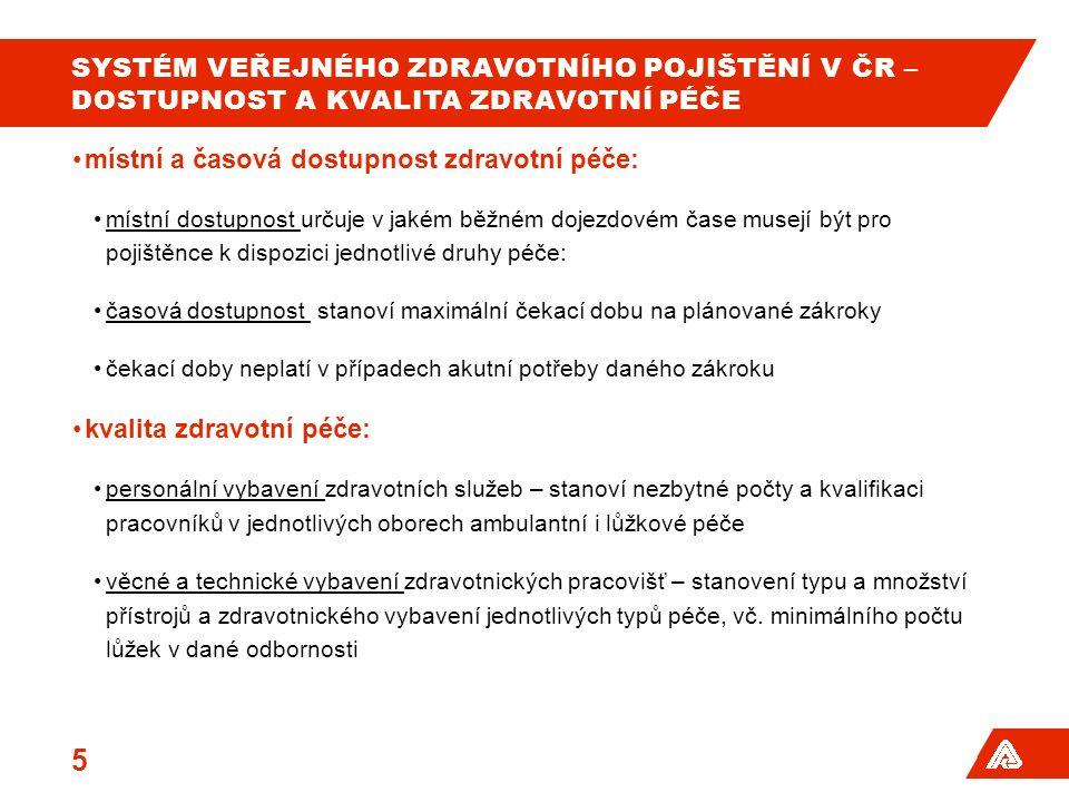 SYSTÉM VEŘEJNÉHO ZDRAVOTNÍHO POJIŠTĚNÍ V ČR – PET/CT 16 Zdroj - data VZP ČR