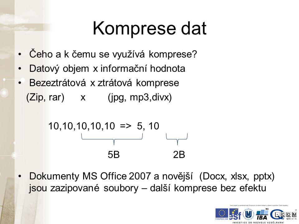 Další odkazy Kniha Báječný svět elektronického podpisu (zdarma) http://knihy.nic.cz/ (pdf) http://knihy.nic.cz/ http://www.businessinfo.cz/cz/clanek/it- telekomunikace/elektronicky-podpis-a-jeho- vyuziti/1000473/2984/ http://www.linuxexpres.cz/praxe/elektronicky-podpis-za- par-minut