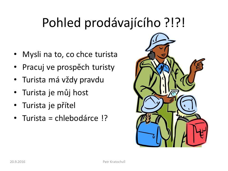 20.9.2016Petr Kratochvíl Pohled prodávajícího ! .