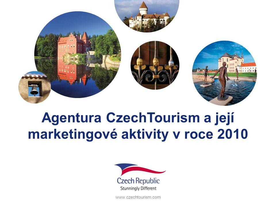 www.czechtourism.com Agentura CzechTourism a její marketingové aktivity v roce 2010