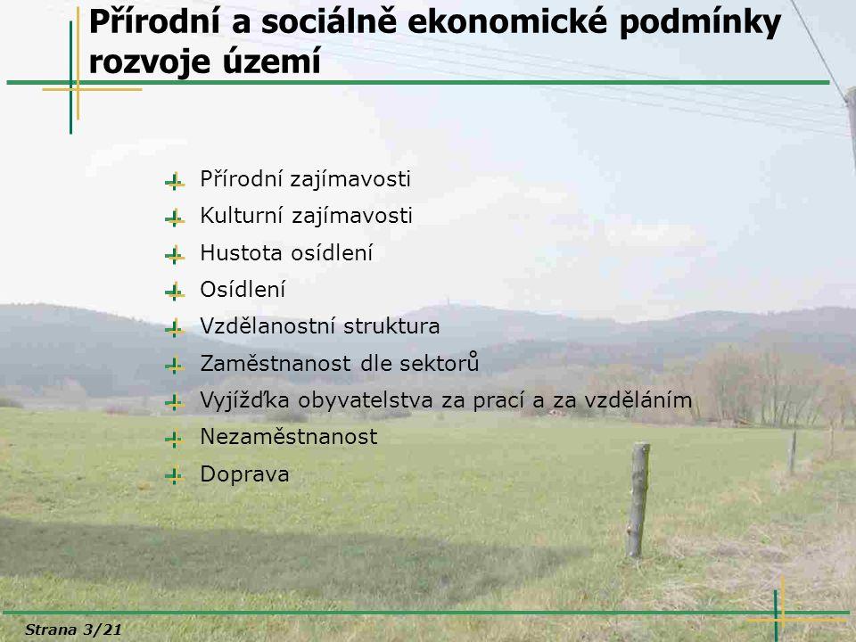 Regionální kontext rozvoje území Strana 14/21