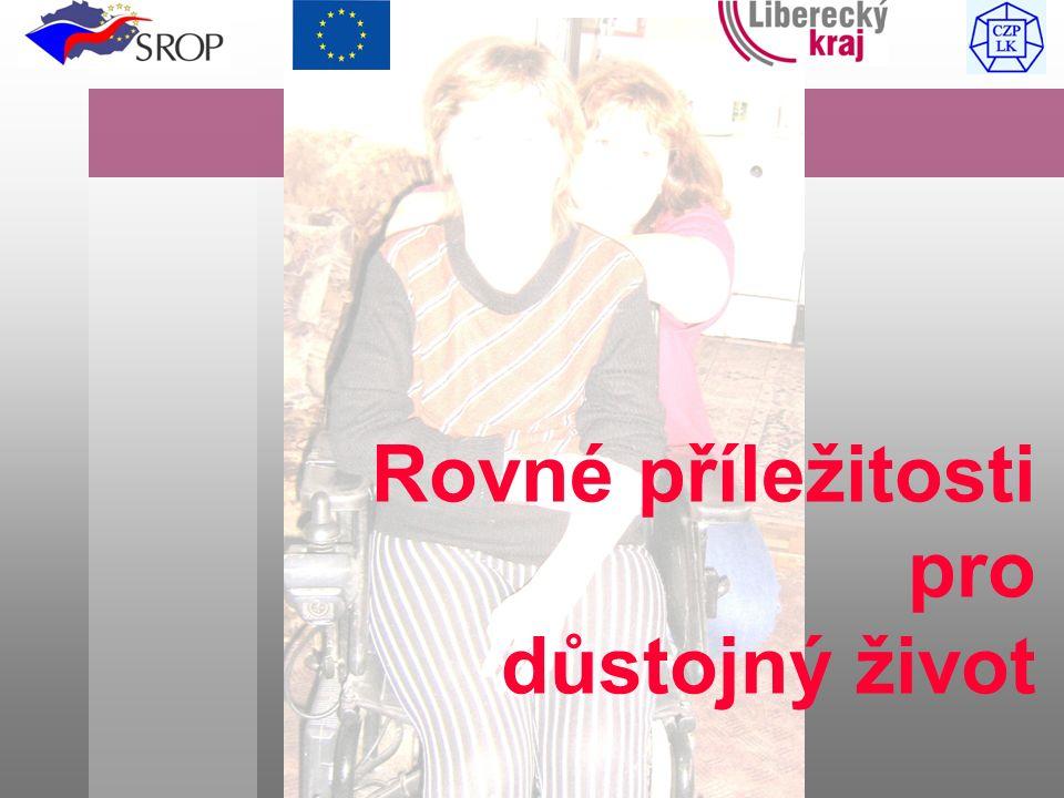 Tento dokument byl vytvořen za finanční podpory EU Rovné příležitosti pro důstojný život