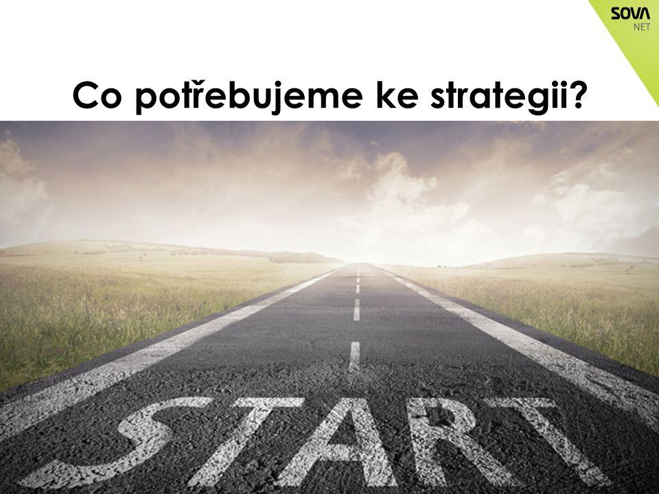 Co potřebujeme ke strategii?