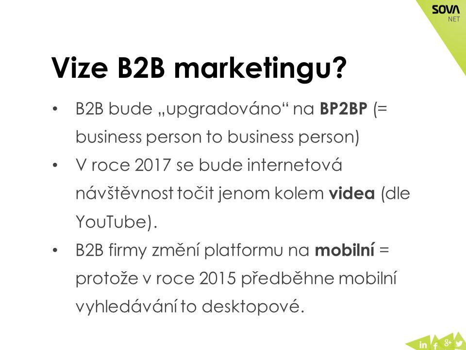 Vize B2B marketingu.