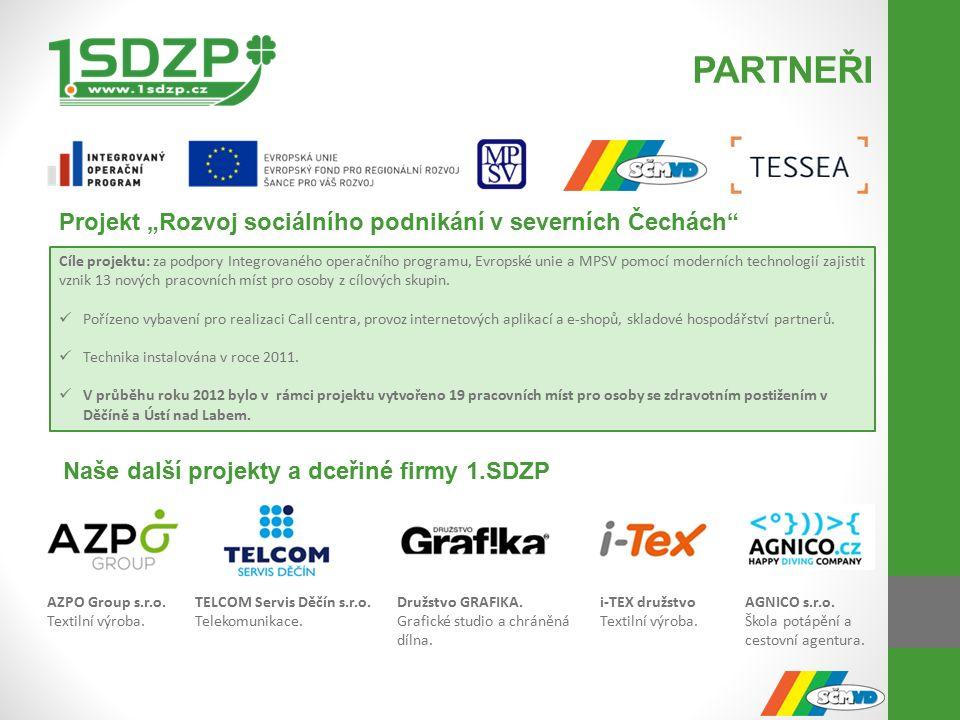 PARTNEŘI AZPO Group s.r.o. Textilní výroba.