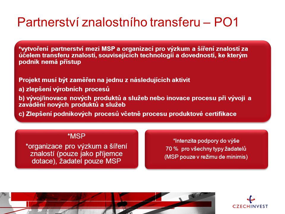 Partnerství znalostního transferu – PO1