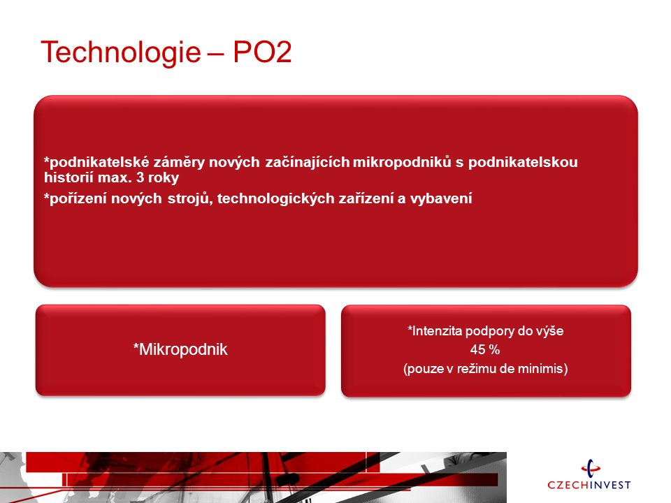 Technologie – PO2