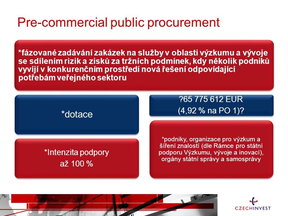 Pre-commercial public procurement