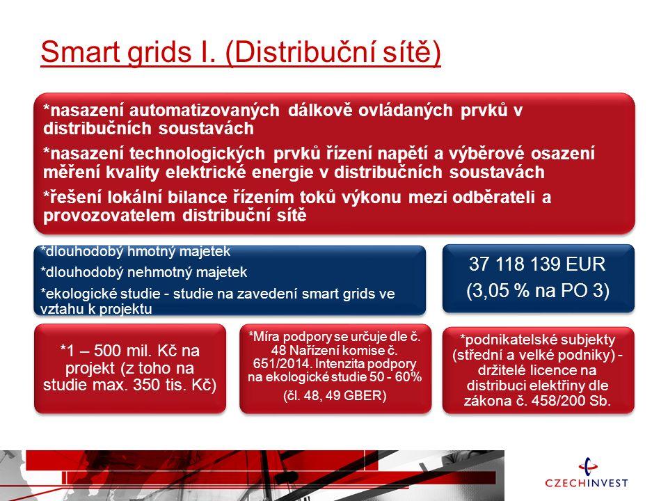 Smart grids I. (Distribuční sítě)