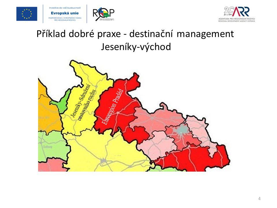 Jeseníky-východ Rozvoj venkova a cestovního ruchu = priorita č.