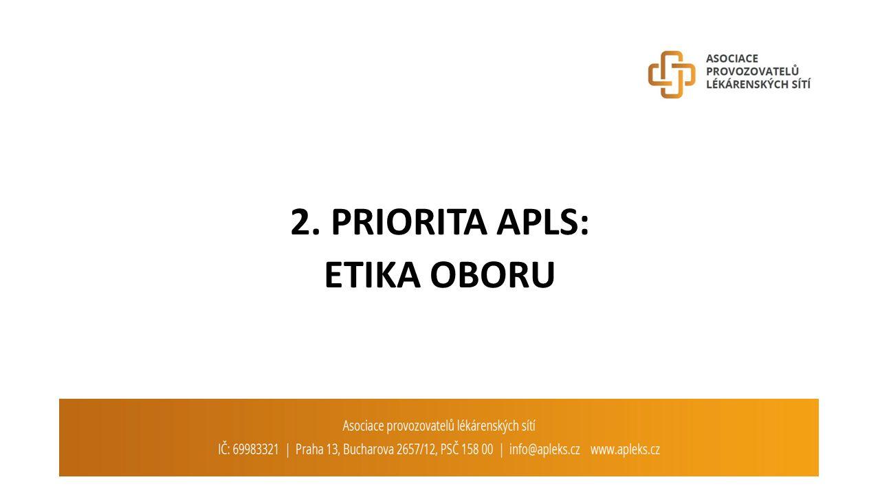 2. PRIORITA APLS: ETIKA OBORU